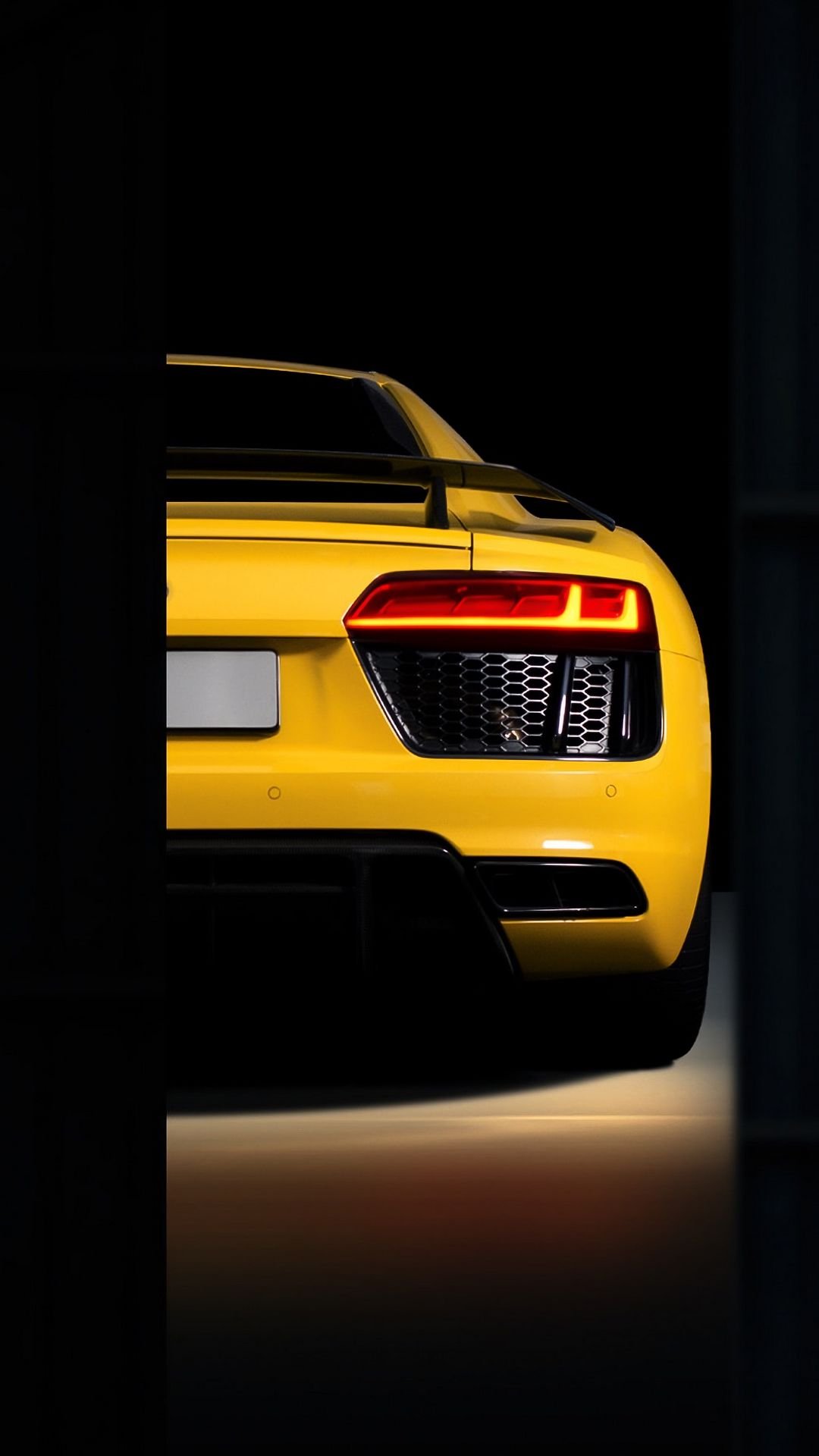 Audi R8 Bumper Background Wallpapers Free Download