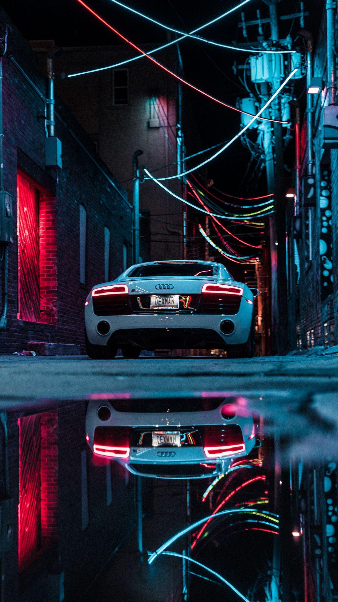 Audi R8 Sport City Car HD Wallpapers Free Download