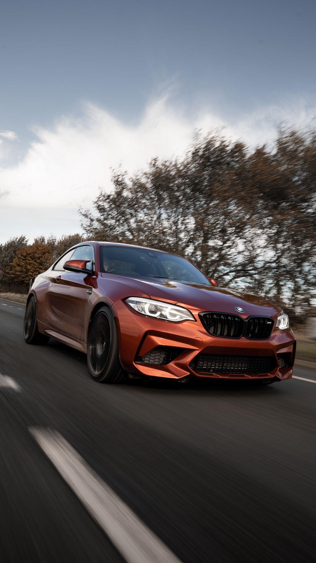 BMW M2 Series Gold Car Wallpapers Free Download