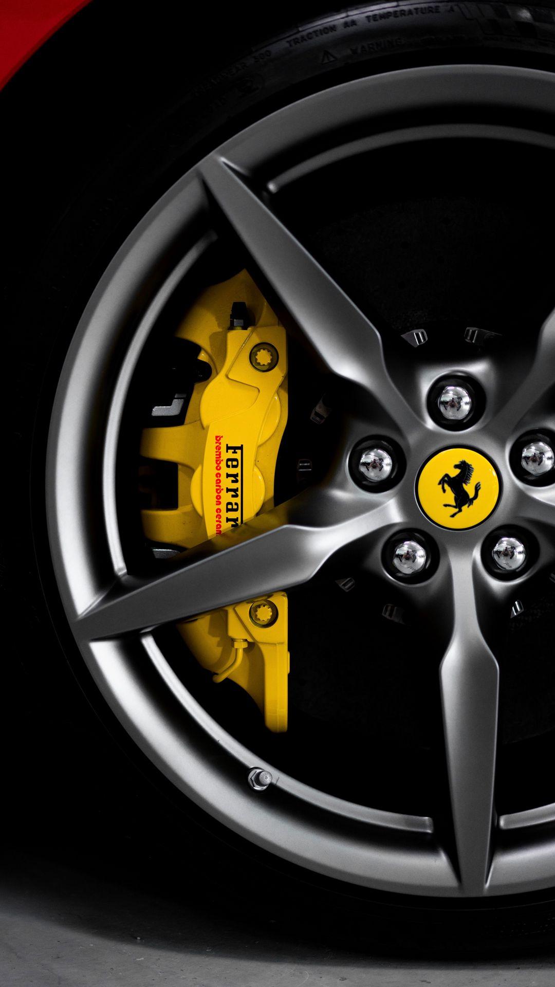 Ferrari Wheel Car Wallpapers Free Download