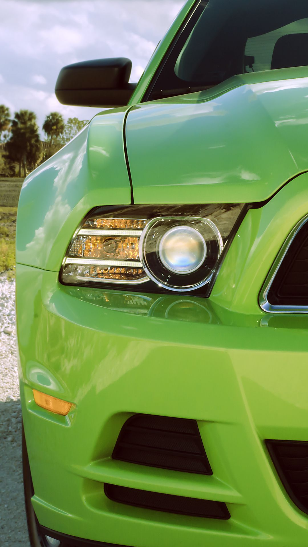Ford Mustang Headlight Wallpapers Free Download