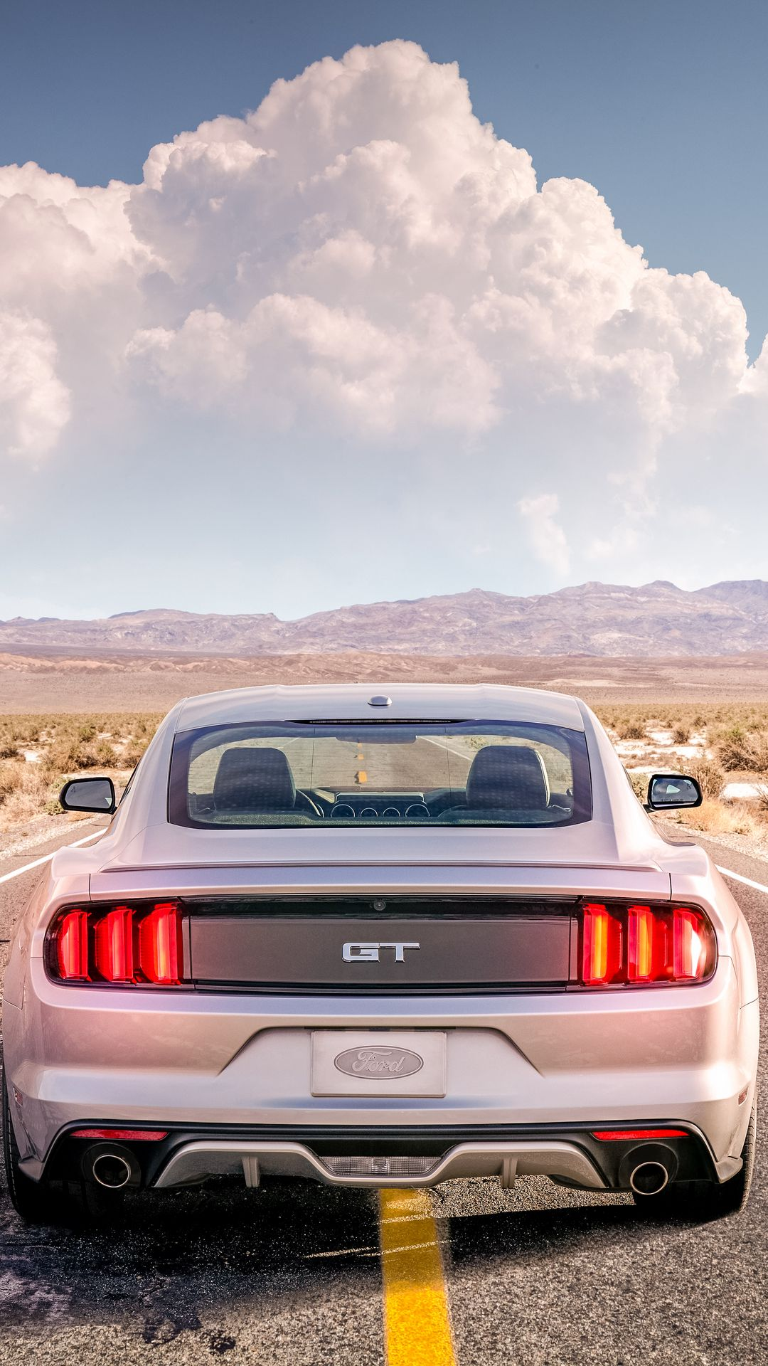 Ford Mustang White Car Ultra HD Wallpapers Free Download