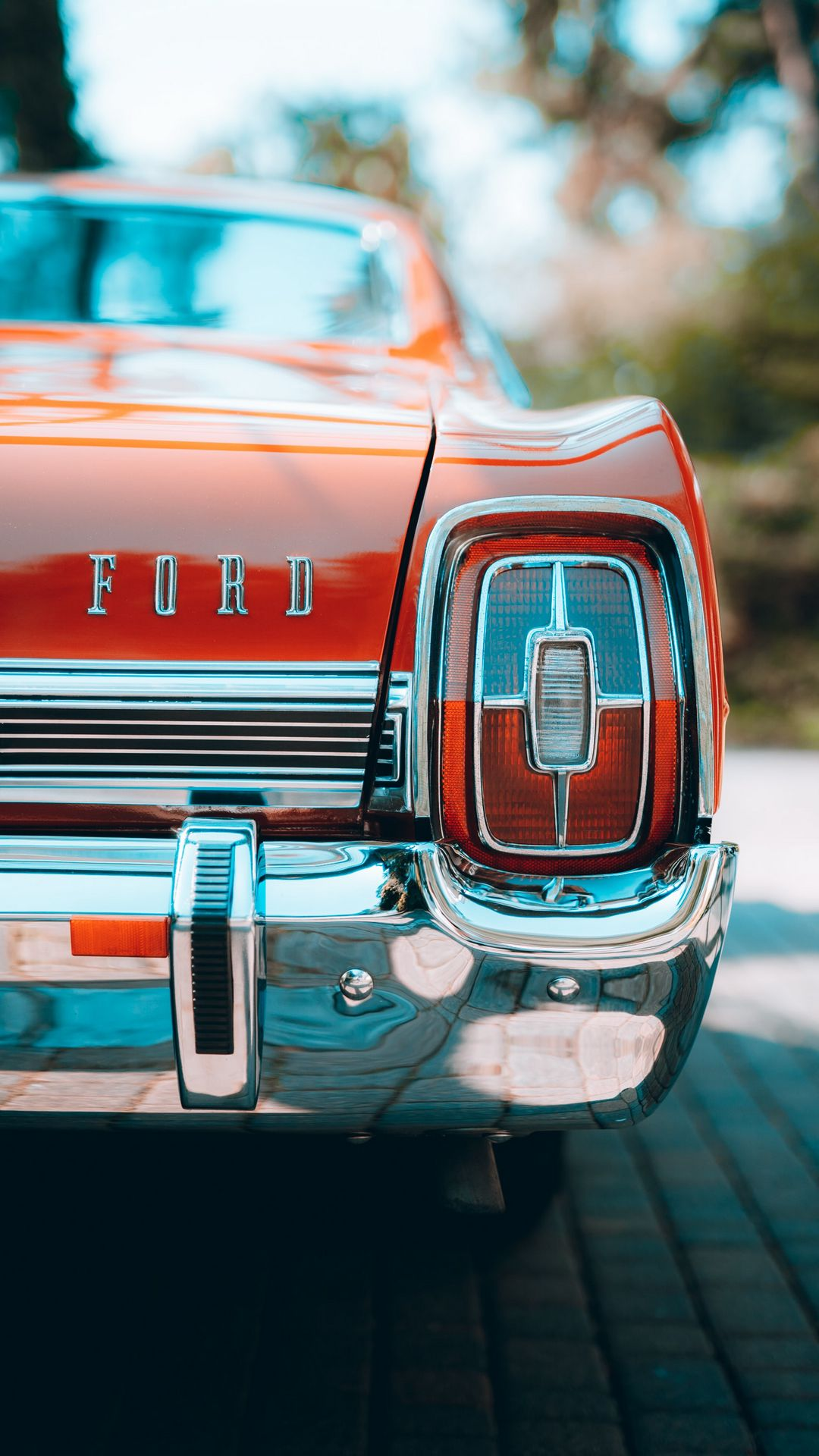 Ford Retro Car HD Wallpapers for Mobile