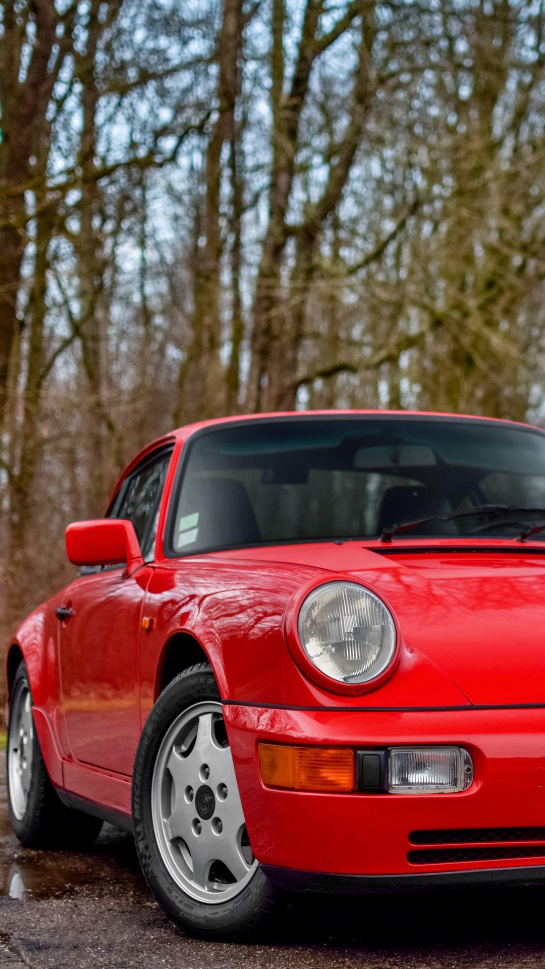 Porsche 964 Carrera 4 Background Wallpapers Free Download