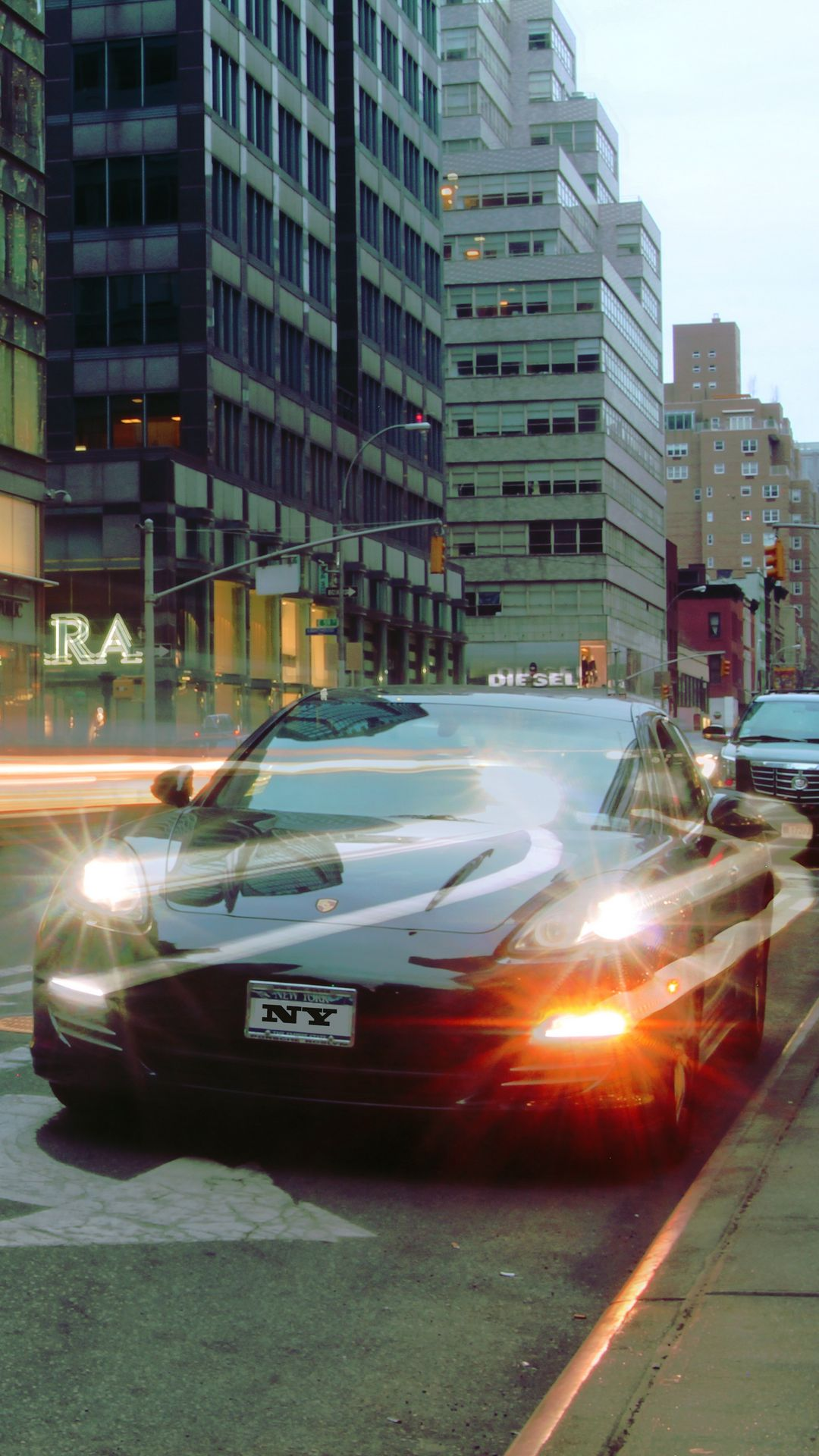 Porsche Car City Ultra HD Wallpapers Free Download for Device