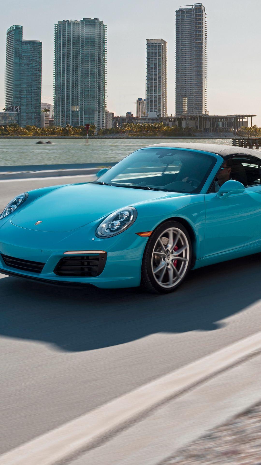 Porsche Carrera Blue Series Wallpapers Free Download