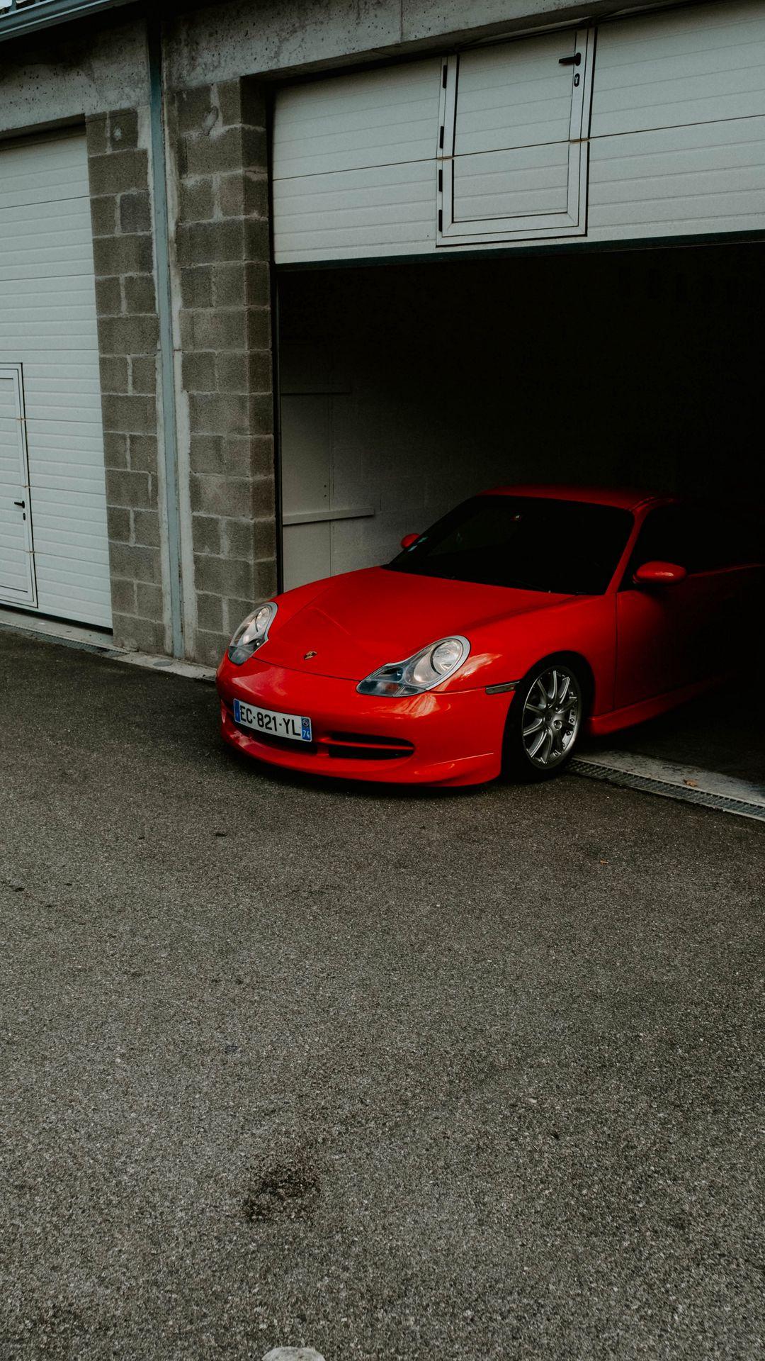 Porsche Retro Red Car Wallpapers Download