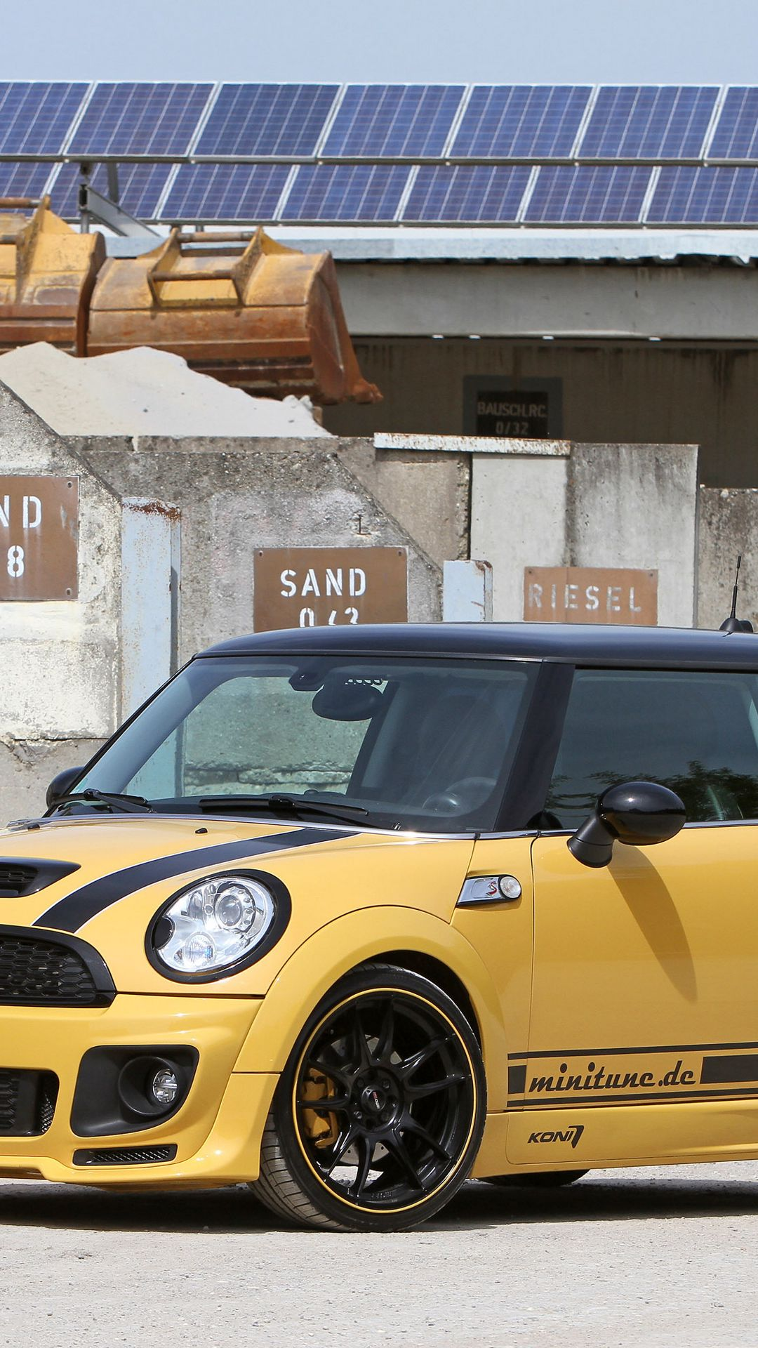 Tunning Mini Cooper Car Wallpapers Free Download