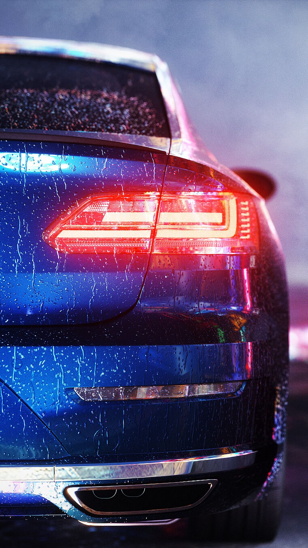 VW Passat Car Stop Wallpapers Free Download
