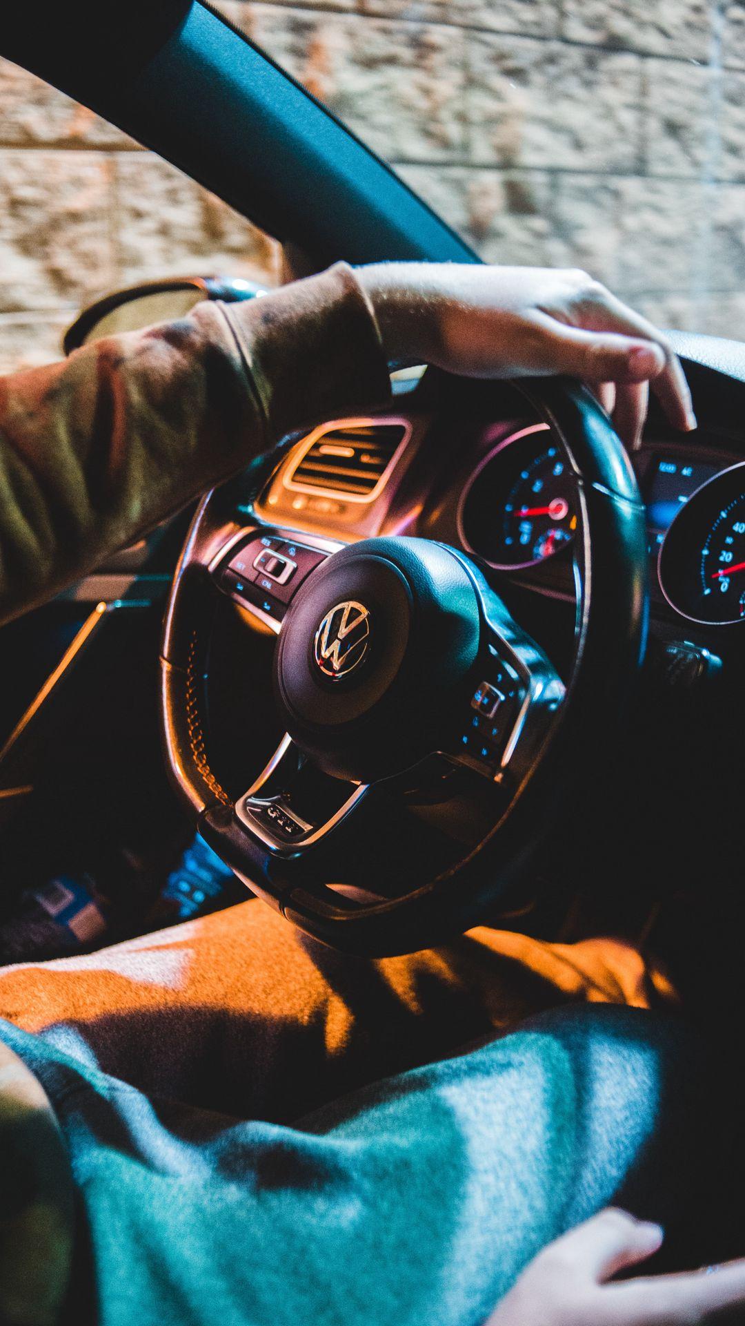 Volkswagen Car Steering Wheel Wallpapers Free Download