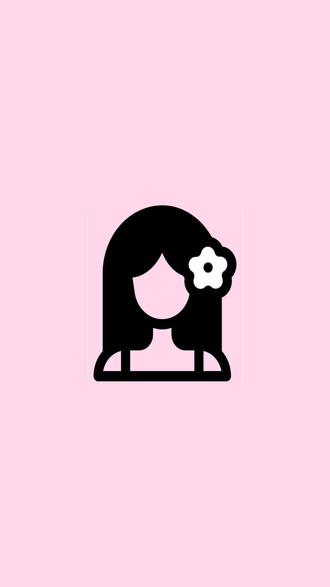 Girl Pink Emoji Wallpapers Free Download